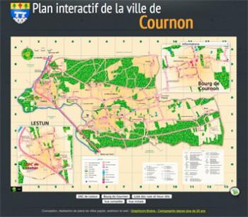 Plans interactifs de la commune de saint jean de boiseau for Piscine de cournon